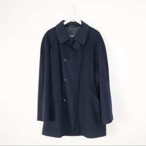 Corneliani Sportswear Wool 3 button Overcoat